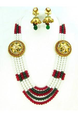 Costume Rajwadi Jewellery Set 57824