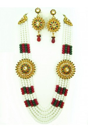Costume Rajwadi Jewellery Set 577819