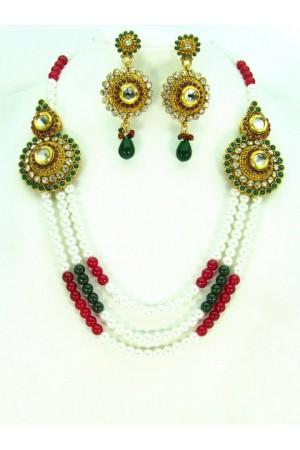Costume Rajwadi Jewellery Set 57794