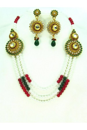 Costume Rajwadi Jewellery Set 57796
