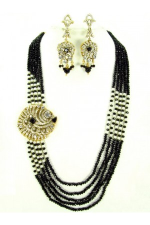 Costume Rajwadi Jewellery Set 62696