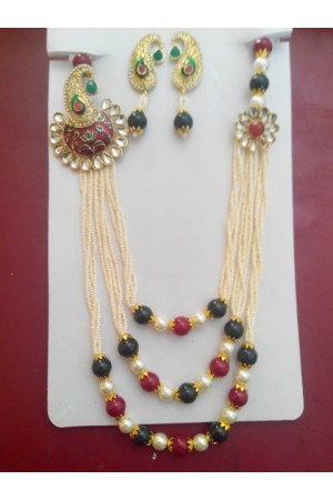 Costume Rajwadi Jewellery Set 76621