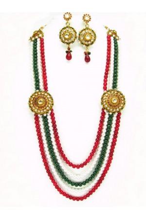 Costume Rajwadi Jewellery Set 55998