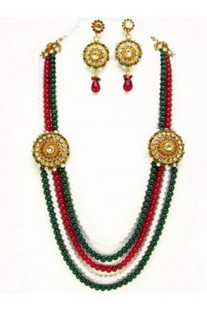 Costume Rajwadi Jewellery Set 55999