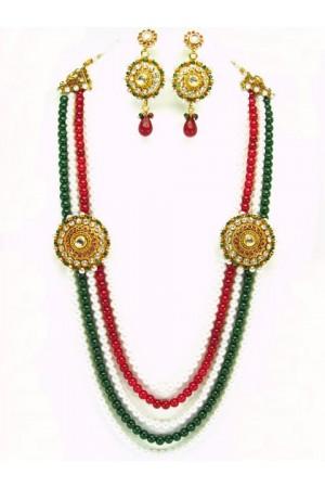 Costume Rajwadi Jewellery Set 56000