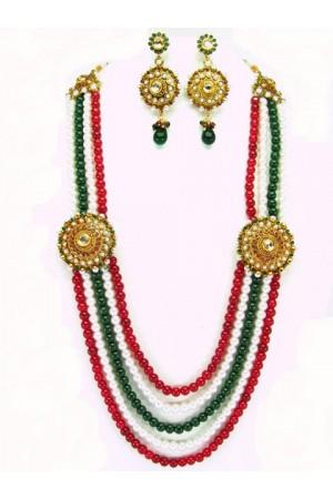Costume Rajwadi Jewellery Set 56001