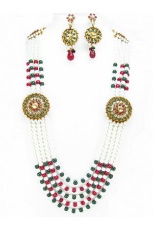 Costume Rajwadi Jewellery Set 56007