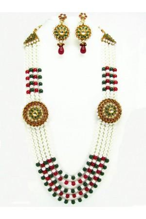 Costume Rajwadi Jewellery Set 56009