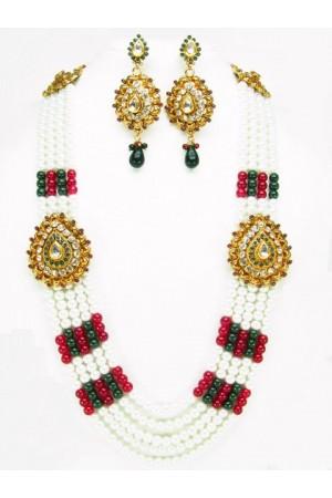 Costume Rajwadi Jewellery Set 56016