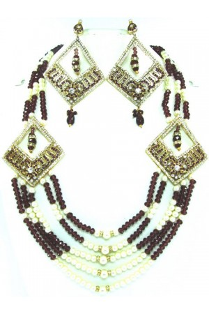 Costume Rajwadi Jewellery Set 56306