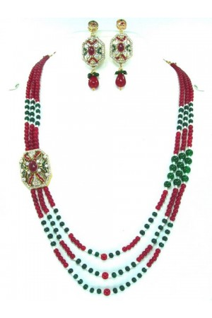 Costume Rajwadi Jewellery Set 56297