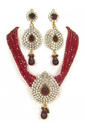 Costume Rajwadi Jewellery Set 81538