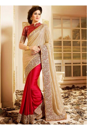 patch-border-work-party-wear-saree-maroon-lycra