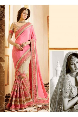 patch-border-work-party-wear-saree-pink-chiffon-1