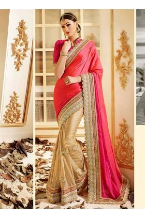 patch-border-work-party-wear-saree-pink-chilli-nazneen