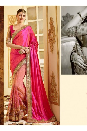 patch-border-work-party-wear-saree-pink-paper-silk-1
