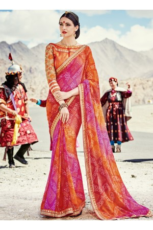 faux-georgette-heavy-embroidery-work-party-wear-Saree-multi-color-2001