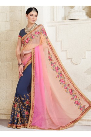 georgette-embroidery-work-party-wear-saree-multi-colour-2512