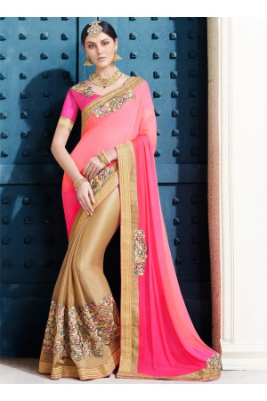 lycra-embroidered-work-party-wear-saree-pink-2505