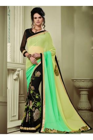 georgette-patch-work-party-wear-saree-multi-colour-1608