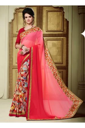 georgette-patch-work-party-wear-saree-pink-1603