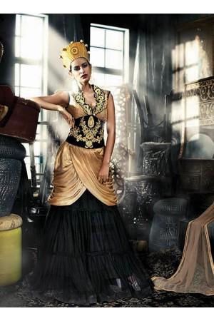 Modish Georgette Designer Gown