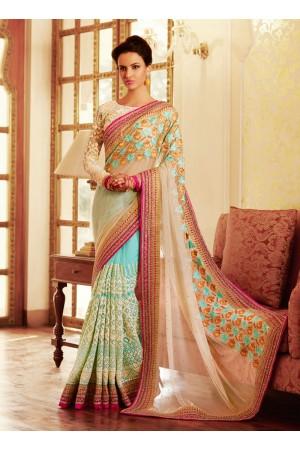 Surpassing Net Designer Saree