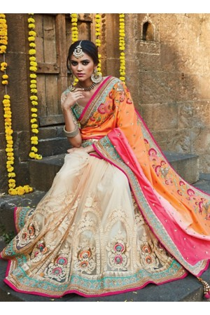 Topnotch Pure Soft Silk Multi Color Saree