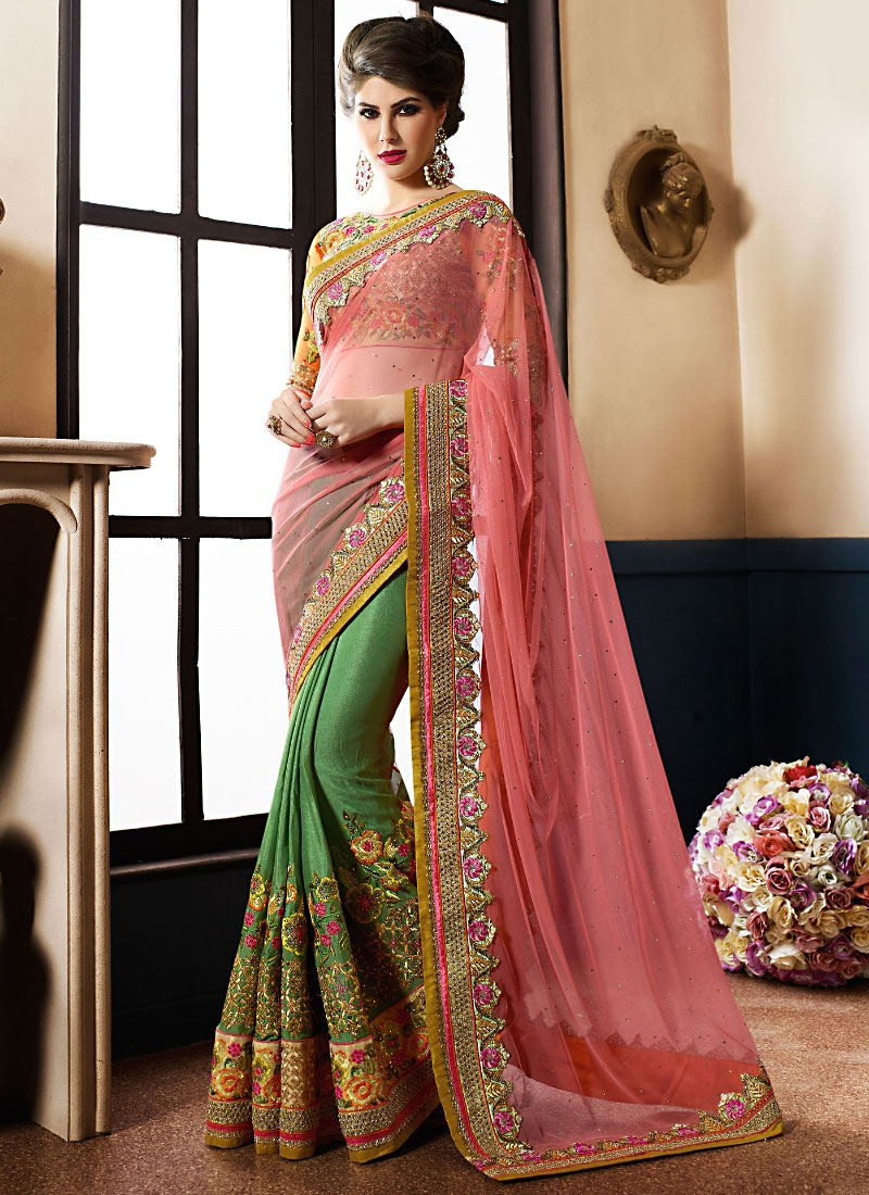 e314c40081 Designer Saris online shopping in USA UK Canada|Buy Radiant Pink ...