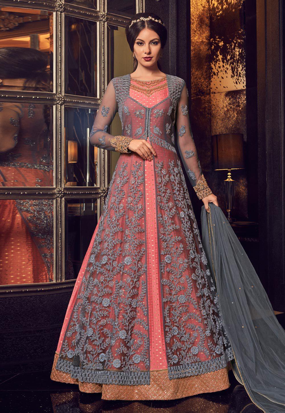 Long Jacket Dresses For Indian Weddings 60 Off Teknikcnc Com,Spring Wedding Guest Dresses 2019