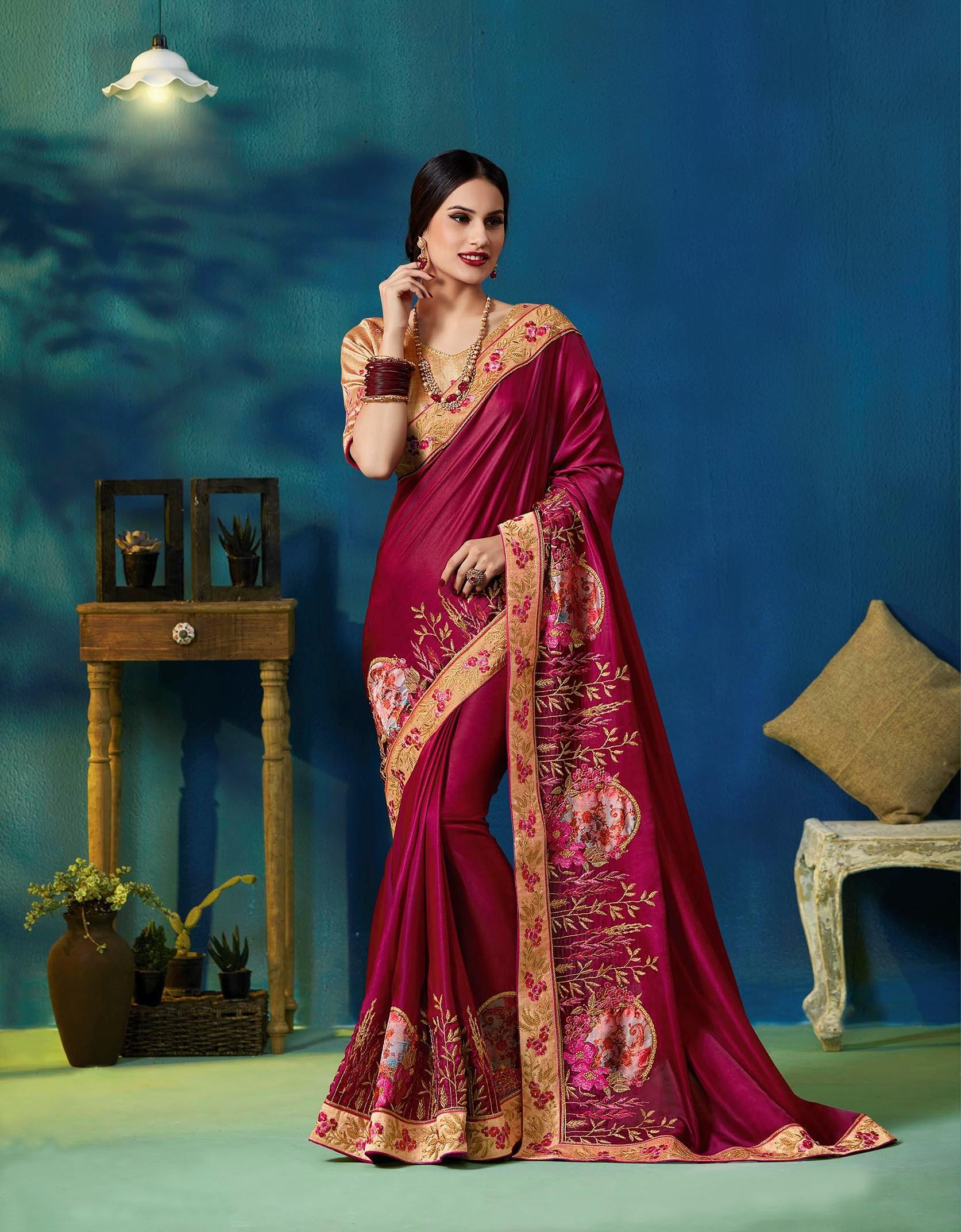1db60a56ee Indian Wedding Dresses Designer Saree – DACC