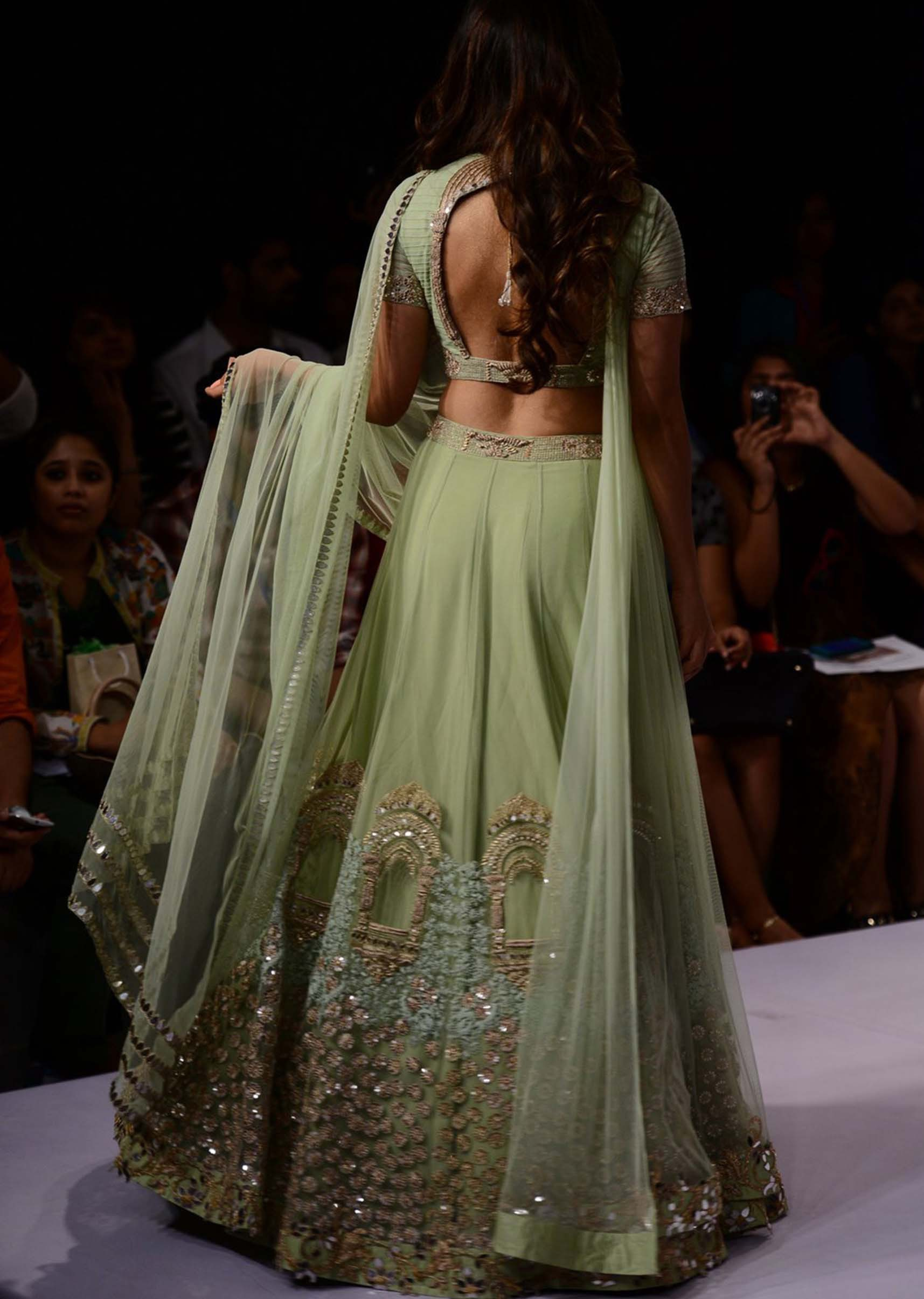 Lehenga choli fashion show 52