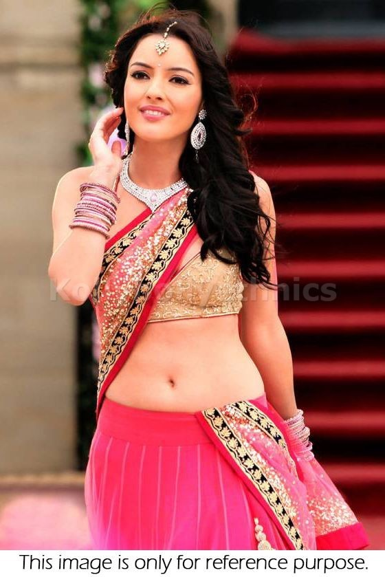 Bollywood Style Yamla Pagla Shamita Shetty georgette and net lehenga in Pink color