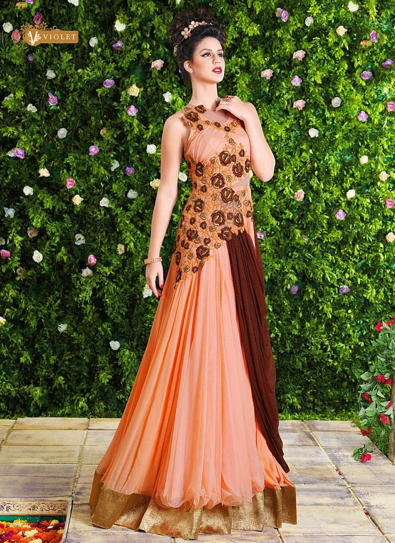 b190d6632 Indian Party Wear Gowns Designs - raveitsafe