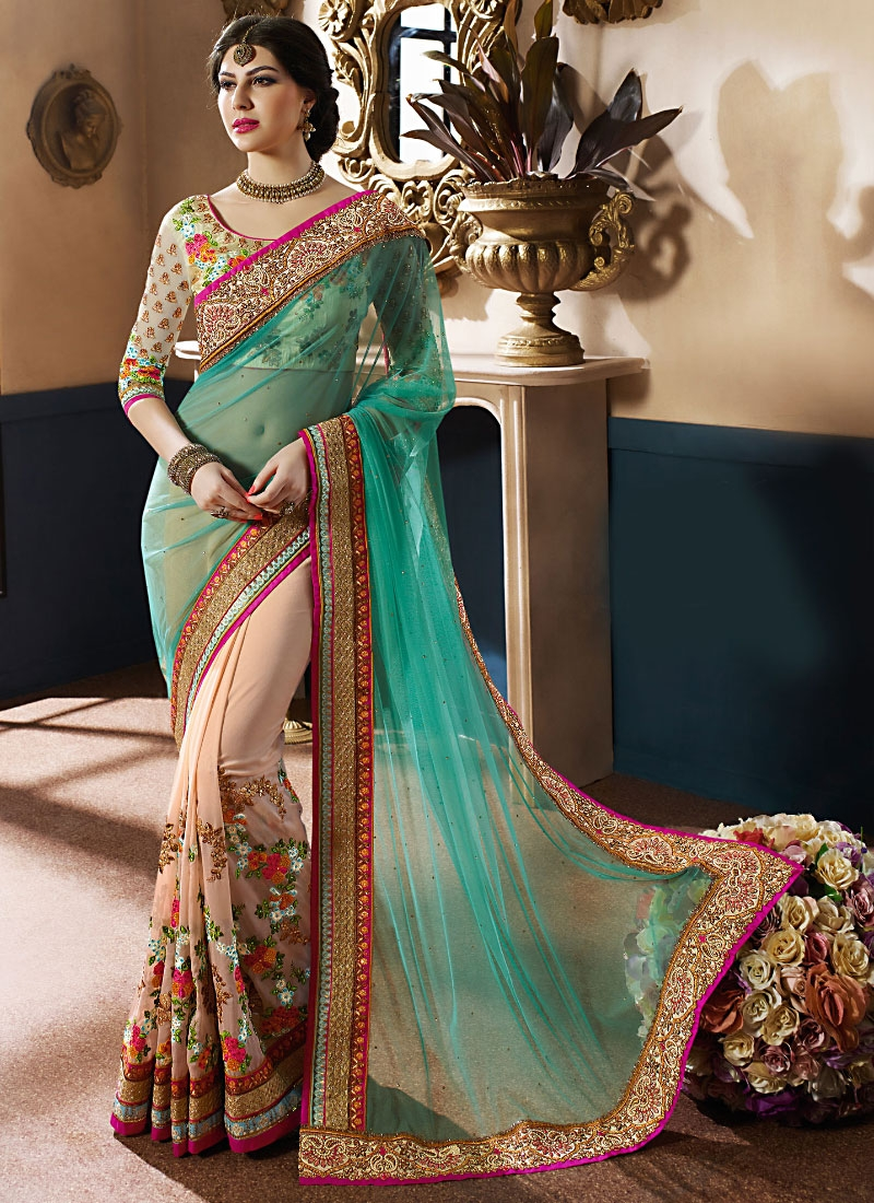Latest Reception Saree Designs  Sareecom by Asopalav