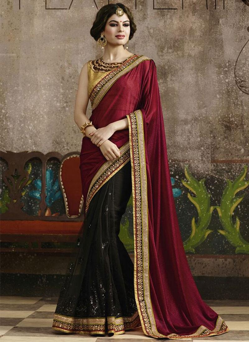 Fashion week Designer stylish sarees for girls