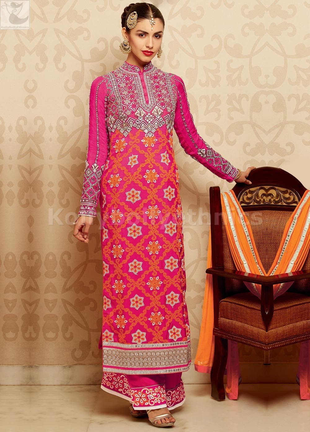 how to cut kameez with measurements