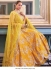 Bollywood Sonakshi Sinha Inspired yellow silk lehenga