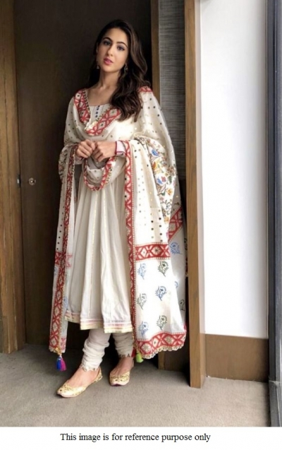 Bollywood Sara Ali Khan Inspired white suit