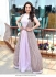 Bollywood Madhuri Dixit Light pink georgette gown