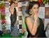 Nargis Fakhri Black and white saree