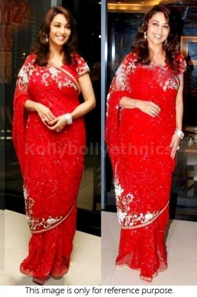 Madhuri Dixit Red saree