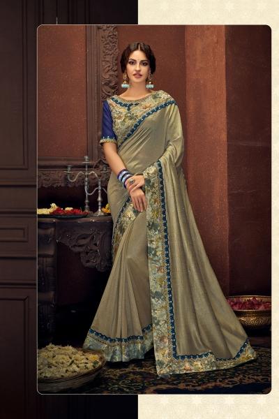 Indian wedding wear saree 13409