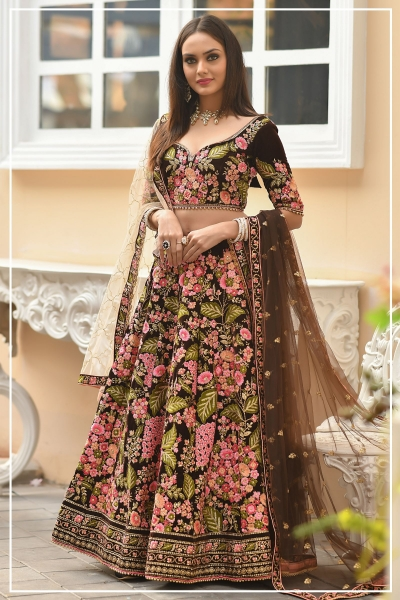 Indian bridal lehenga choli 958