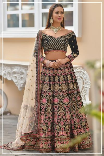 Indian bridal lehenga choli 960