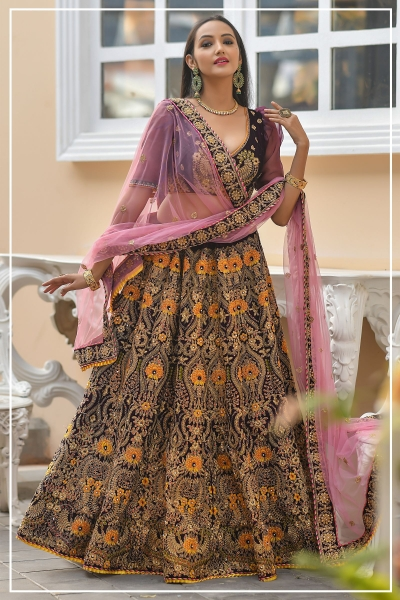 Indian bridal lehenga choli 961