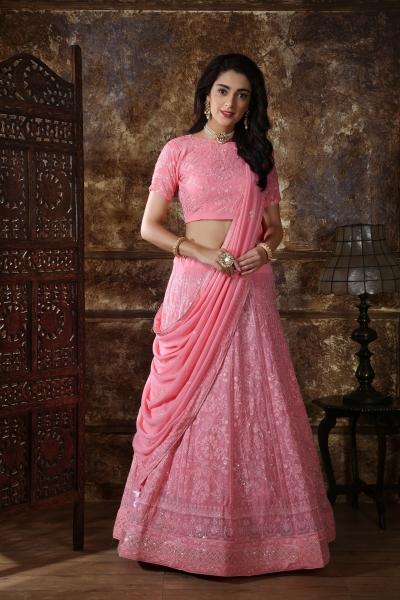 Indian bridal lehenga choli 1086