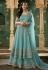 Aqua net embroidered indo western lehenga choli 78001