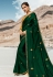 Green barfi silk party wear saree 80002