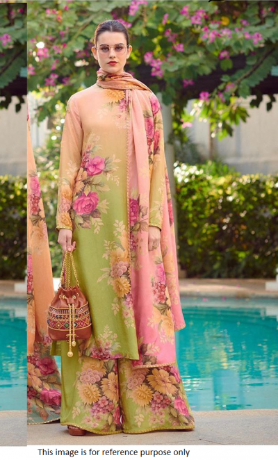 Bollywood Sabyasachi Inspired geoegette crepe palazzo